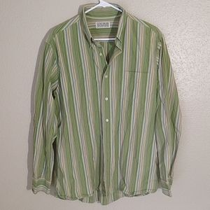 Lucky Brand Single Needle Tailored Casual Shirt